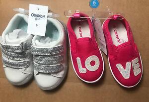 Lot Of 2 Girls OshKosh Glitter Sneaker