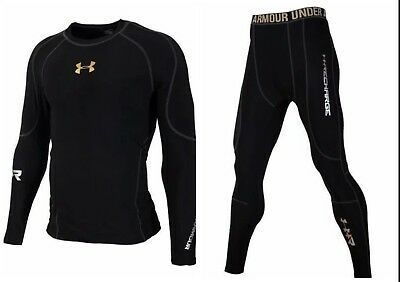 Clothing, Shoes & Accessories Activewear Tops Under Armour Men's Cold-gear Long Tight And Long Sleeve Compression All Size