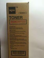 02SN Genuine IKON CPP 500 Magenta Toner