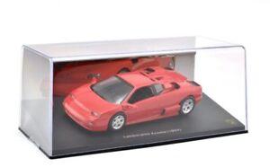 Altaya-Diecast-Escala-1-43-JT66-Lamborghini-Acosta-Rojo-1999