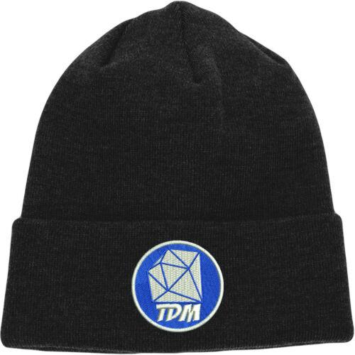 Dantdm beanie brodé design youtuber gamer chapeau