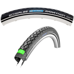 Schwalbe Marathon Reflective Mountain Wirebead Tire 26x1.50   w  GreenGuard Strip  welcome to order