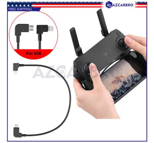 OTG Micro USB Cable for DJI Phantom 3//4 Inspire 1//2 RC IOS iPhone//iPad Lightning
