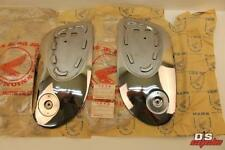 NOS HONDA CA72 CA77 L/R DREAM FUEL TANK SIDE COVERS OEM NEW