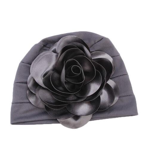 Women Hair Loss Head Scarf Turban Cap Flower Ladies Cancer Chemo Hat Cover Arab