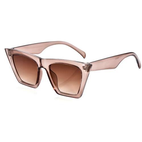 Nouveau Rétro Vintage Femmes Cat Eye Lunettes de soleil Fashion Shades surdimensionné lunettes