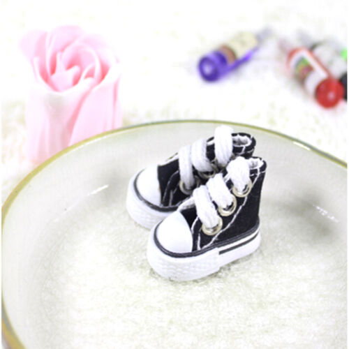 5cm Canvas Lace Up Sneakers Shoes For  /& Boy Dolls plfaWL