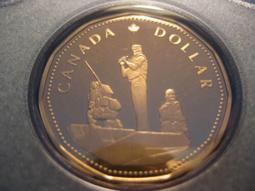 Peacekeeping Monument 1995 Peacekeeping Dollar Canadian Proof Coin