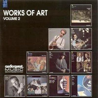 WORKS OF ART Volume 2 - NEW CD AudioQuest Bruce Katz Mighty Sam McClain Blues