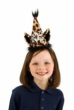 Set of 6 Leopard Print PARTY ANIMAL Cones Adults & Kids Novelty Birthday Hats