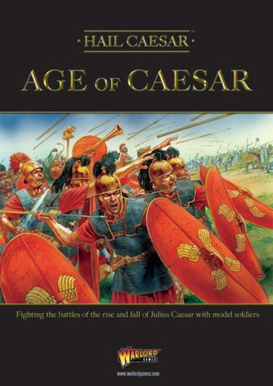 Warlord Games Hail Caesar Age of Caesar (English) Julius Caesar Rom Roman
