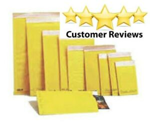 """50 #3  8.5"""" x 14.5"""" Kraft Bubble Lined Mailer Envelopes Self Seal Extra-Sturdy"""