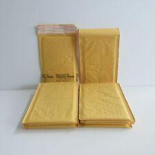 10 Sealed Air Jiffylite 000 Small 7 X 5 Manila Bubble Shipping Mail Envelopes
