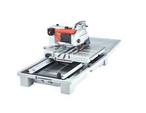 HOC DBS7 7 INCH 1.5 HP HEAVY DUTY WET BRICK SAW WET TILE SAW + 90 DAY WARRANTY + FREE SHIPPING Canada Preview