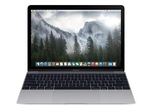 "Apple 12"" MacBook Retina Gray Core M 1.3GHz 8GB RAM 512GB SSD BTO/CTO (2015)"