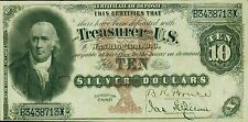 PHOTO MAGNET USA Reproduction 1880 Silver Certificate 10 Dollars  MAGNET
