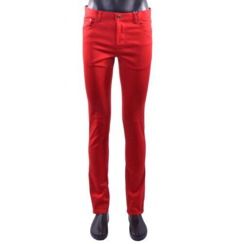 Slim Jeans Red 05418 Moschino Pantaloni Rosso Couture Stile In Vestibilità qgnEx6wI