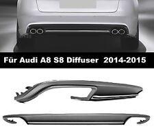 A8 S8 Diffuser für Audi 4H 2014-15 Sedan Spoiler Heckschürze HINTEN Heckansatz 0
