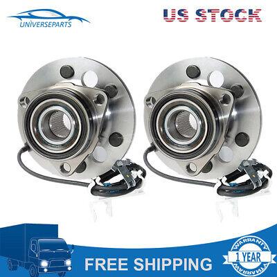 Front Left/&Right ABS Wheel Speed Sensor For 95-99 Chevrolet K1500 K2500 Suburban