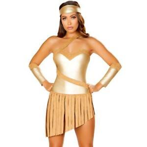 Golden skirt and headband