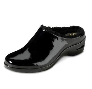 Cole Haan Damens's schwarz Patent Reena Leder Air Reena Patent Shearling Slip On ... 2faf15
