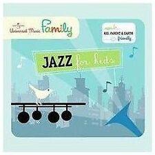 JAZZ FOR KIDS (Ella Fitzgerald, Louis Prima, & More!) CD [J118]