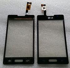 Touch Touchscreen Displayglas Glas Digitizer Flex Schwarz LG Optimus L4 II E440