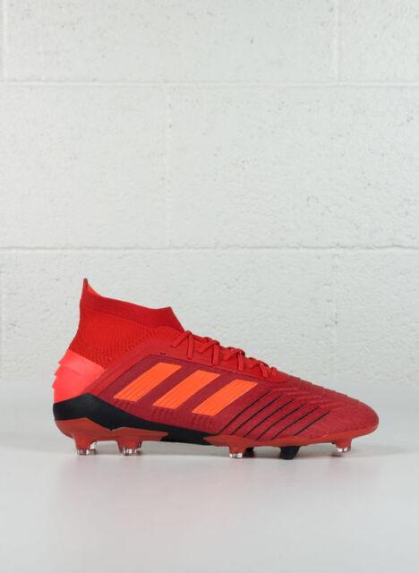 Scarpe adidas Predator 19.1 Firm Ground Taglia 44 Bc0552 Rosso