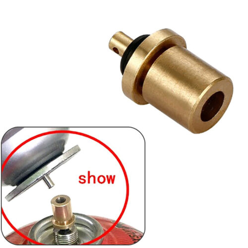 Cylinder Filling Butane Canister Gas Refill Adapter Copper#Outdoor Camping St C2