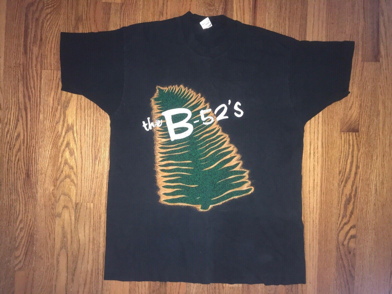 B-52s Original Tour T Shirt 1992 Mens XL Tourgasm Fruit Of The Loom