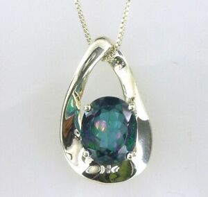 Tahitian-Blue-Topaz-Pendant-Stunning-Color-925-SS-Sterling-Silver-7-00Carats