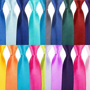 """Kleidung & Accessoires Blue Red Pink Purple 5pc Herren-accessoires Niedrigerer Preis Mit Tie Co Men's Slim 2"""" 4.5cm Tie Work Wedding Gift Set"""