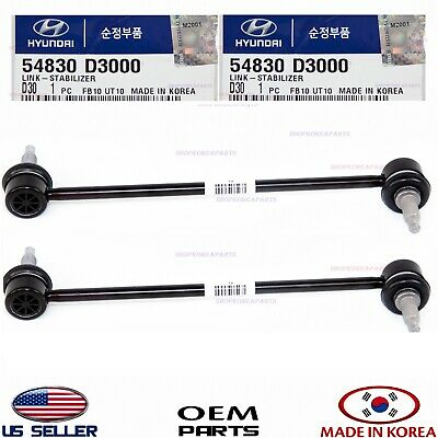 For Hyundai Tucson 10 2010 11 2011 12 2012 13 2013 SK91031020102 2PC Front Suspension Kit - Sway Bar Links//Stabilizer Bar Links Tovasty 2