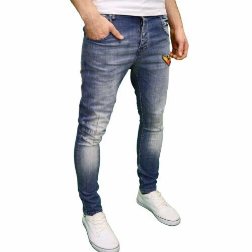 Juice Generation Mens Designer Branded Detailed Skinny//Slim Fit Jeans BNWT