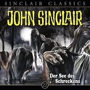 JOHN-SINCLAIR-CLASSICS-FOLGE-22-DER-SEE-DES-SCHRECKENS-CD-NEW