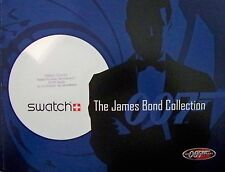 JAMES BOND + 007 + SWATCH + COLLECTION + from SEAN CONNERY + to PIERCE BROSNAN +