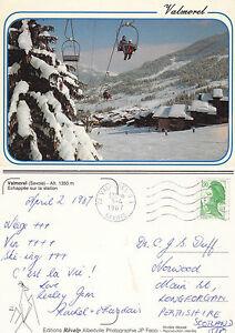 1987-VALMOREL-FRANCE-COLOUR-POSTCARD