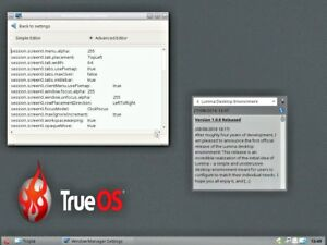 TrueOS | FreeBSD Desktop Operating System with ZFS on DVD | eBay
