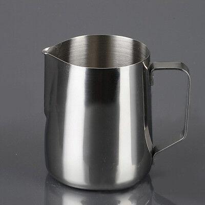KAYI Hot 350m Stainless Steel Pitcher Frothing Milk Latte Tea Coffee Mug Cup Jug