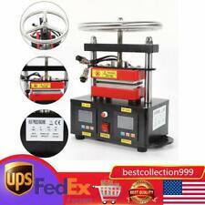 900w 24x47 Hand Crank Rosin Press Machine Duel Heated Plates Heat Transfer