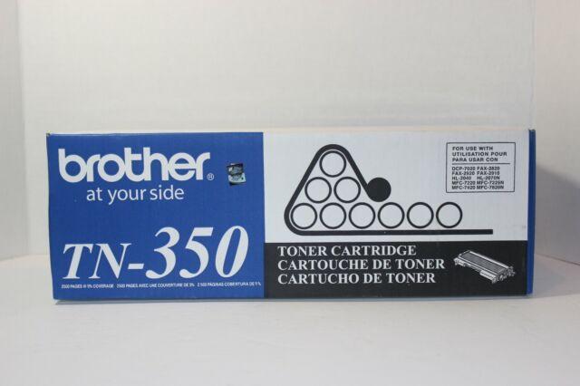 Genuine Brother TN-350 BLACK Toner for HL-2040 / MFC-7420 / DCP-7020  NEW SEALED