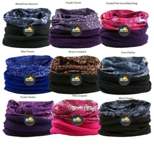 Damen Mädchen Multi Kopfbedeckung Halswärmer Schlauchschal von Rockjock