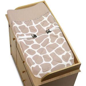 Sweet Jojo Changing Table Pad Cover For Giraffe Animal