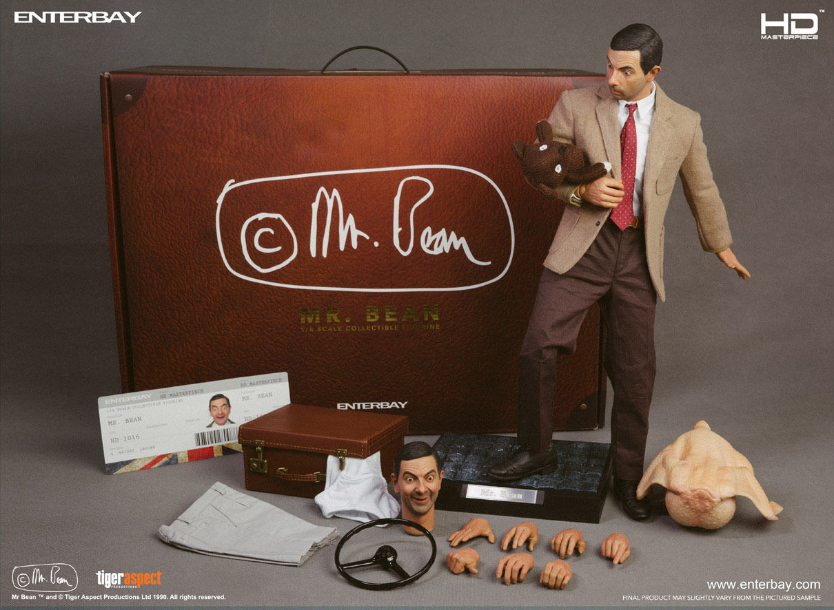 Mr. BEAN  Mr. BEAN HD MASTERPIECE 1 4 Action Figure 18″ ENTERBAY