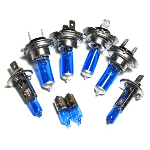 Mercedes E-Class W210 55w ICE Blue Xenon HID High//Low//Fog//Side Headlight Bulbs