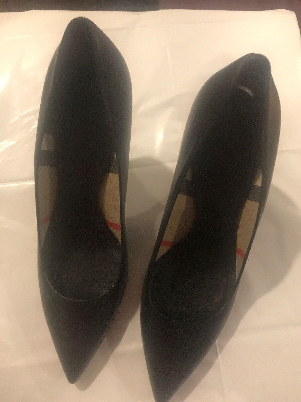 Burberry mawdesley Negro para Mujer Tacones Zapatos Zapatos Zapatos Talla 9.5 precio minorista sugerido por el fabricante  550  promocionales de incentivo