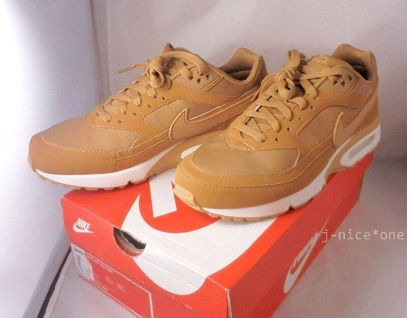 ffd533fb3f NIKE AIR MAX BW FLAX FLAX-SAIL SP Sneakers US 8.5 9.0 9.5 Wheat Brown