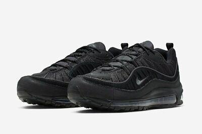 Nike Air Max 98 Black Anthracite Black Sole CQ4028 001 | eBay