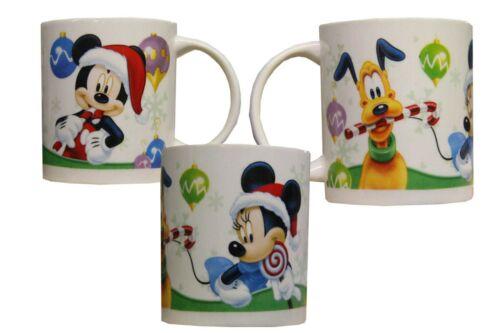 Kinder Tasse Mickey Maus Mouse Minnie Maus Pluto Disney Weihnachten Geschenkidee