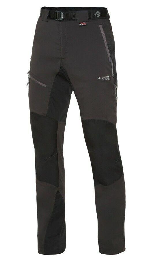 Direct Alpine Patrol Tech Pant Men  Outdoorhose für Herren  anthrazit-schwarz